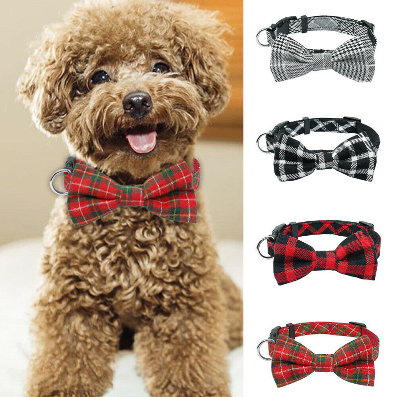 Valentine/'s Day Dog Bow Tie Small and Medium Size Dogs Pet Birthday Pet Bows Pet Gift Animal Collar Bows Collar Bows Dog Accessories